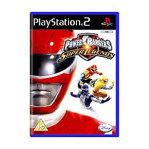 Jogo Power Rangers: Super Legends - PS2 (Europeu)