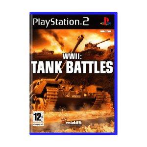 Jogo WWII: Tank Battles - PS2 (Europeu)