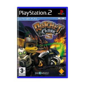 Jogo Ratchet and Clank 3 - PS2 (Europeu)