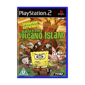 Jogo Nicktoons: Battle for Volcano Island - PS2 (Europeu)