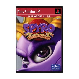 Jogo Spyro: Enter the Dragonfly - PS2