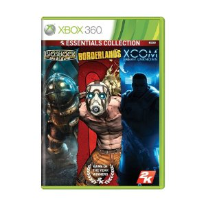 Jogo Bioshock + Borderlands + XCOM: Enemy Unknown (2K Essentials Collection) - Xbox 360