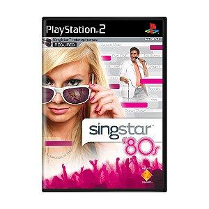 Jogo SingStar '80s - PS2