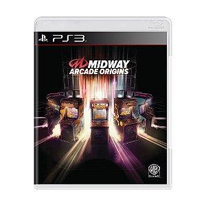 Jogo Midway Arcade Origins - PS3