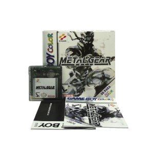 Jogo Metal Gear Solid - GBC