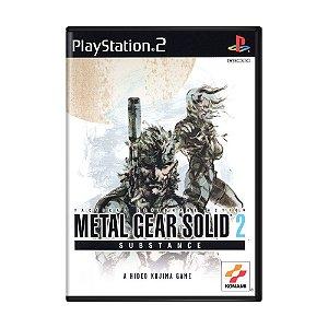 Jogo Metal Gear Solid 2: Substance - PS2