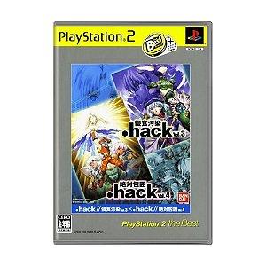 Jogo .hack//Vol. 3 x Vol. 4 - PS2 (Japonês)