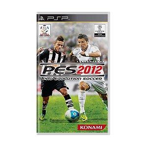 Jogo Pro Evolution Soccer 2012 - PSP