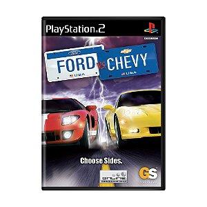 Jogo Ford vs. Chevy - PS2