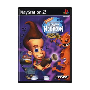 Jogo The Adventures of Jimmy Neutron Boy Genius: Attack of the Twonkies - PS2