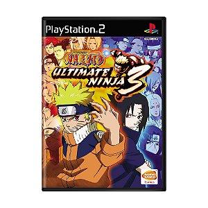 Jogo Naruto: Ultimate Ninja 3 - PS2
