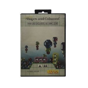 Jogo Shapes and Columns - Game Gear