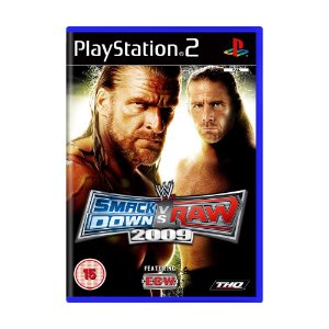 Jogo WWE SmackDown Vs. Raw 2009 - PS2 (Europeu)