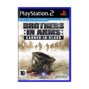 Jogo Brothers in Arms: Earned in Blood - PS2 (Europeu)