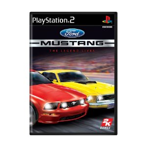 Jogo Ford Mustang: The Legend Lives - PS2