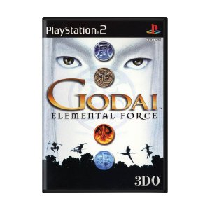 Jogo Godai Elemental Force - PS2