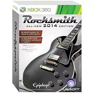 Jogo Rocksmith 2014 Edition + Cabo - Xbox 360