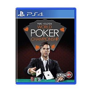Jogo Pure Hold'em World Poker Championship - PS4