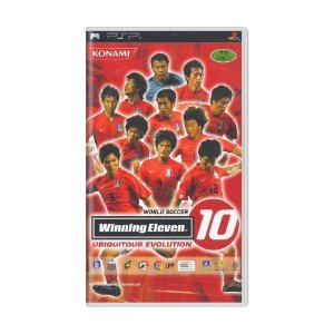 Jogo World Soccer Winning Eleven 10: Ubiquitous Evolution - PSP