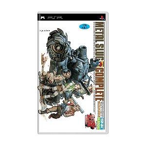 Jogo Metal Slug Complete - PSP