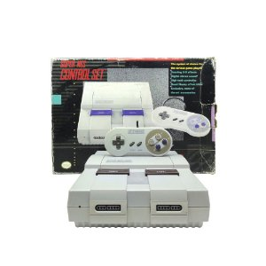 Console Super Nintendo (Control Set) - SNES