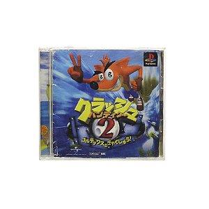 Jogo Crash Bandicoot 2: Cortex Strikes Back - PS1 (Japonês)