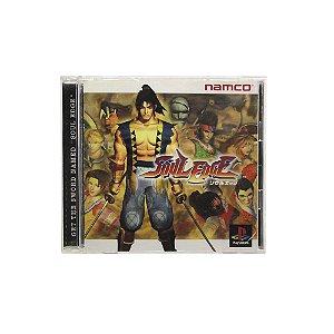 Jogo Soul Edge - PS1 (Japonês)