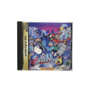 Jogo RockMan 8: Metal Heroes - Sega Saturn (Japonês)