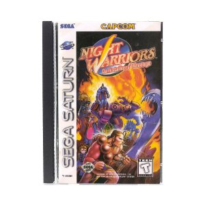 Jogo Night Warriors: Darkstalkers' Revenge - Sega Saturn