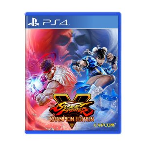 Jogo Street Fighter V: Champion Edition - PS4