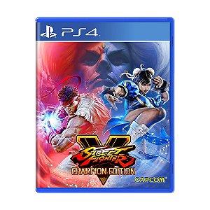 Jogo Street Fighter V: Champion Edition - PS4