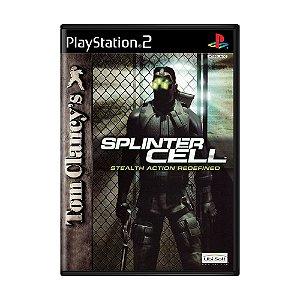 Jogo Tom Clancy's Splinter Cell - PS2