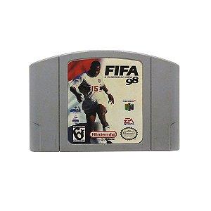 Jogo FIFA: A Caminho Da Copa 98 - N64