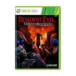 Jogo Resident Evil: Operation Raccoon City - Xbox 360