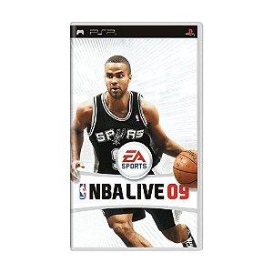 Jogo NBA Live 09 - PSP