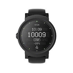 Relógio de Pulso Smart Ticwatch E2 PXPX Bluetooth Preto