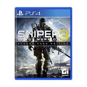 Jogo Sniper: Ghost Warrior 3 (Season Pass Edition) - PS4 (Lacrado)