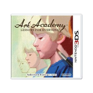 Jogo Art Academy: Lessons For Everyone! - 3DS