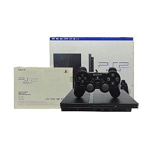 Console PlayStation 2 Slim Preto - Sony