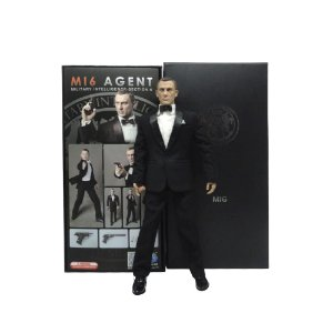 Action Figure James Bond (MI6 Agent - Section 6) - DID Corp.