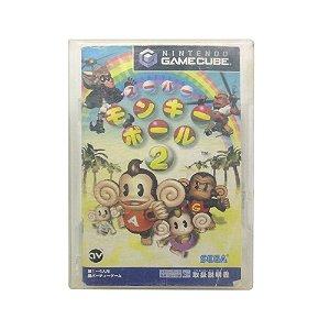 Jogo Super Monkey Ball 2 - GameCube (Japonês)