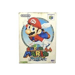 Jogo Super Mario 64 - N64 (Japonês)