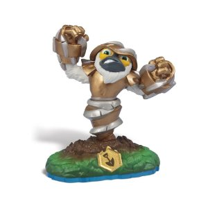 Boneco Skylanders Swap Force: Grilla Drilla