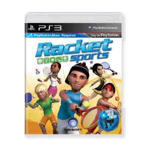 Jogo Racket Sports - PS3