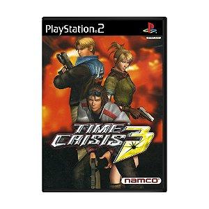 Jogo Time Crisis 3 - PS2