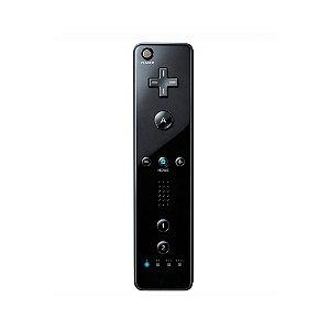 Controle Wii Remote Preto Paralelo - Wii