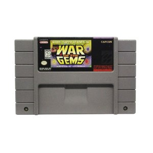 Jogo Marvel Super Heroes in War of the Gems - SNES