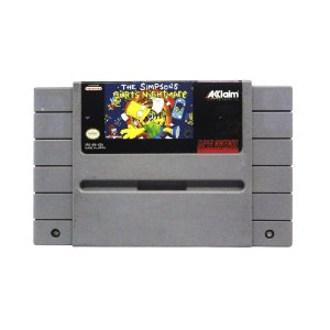 Jogo The Simpsons: Bart's Nightmare - SNES