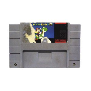 Jogo Super Mario World - SNES