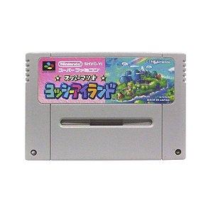 Jogo Super Mario: Yoshi Island - SNES (Japonês)